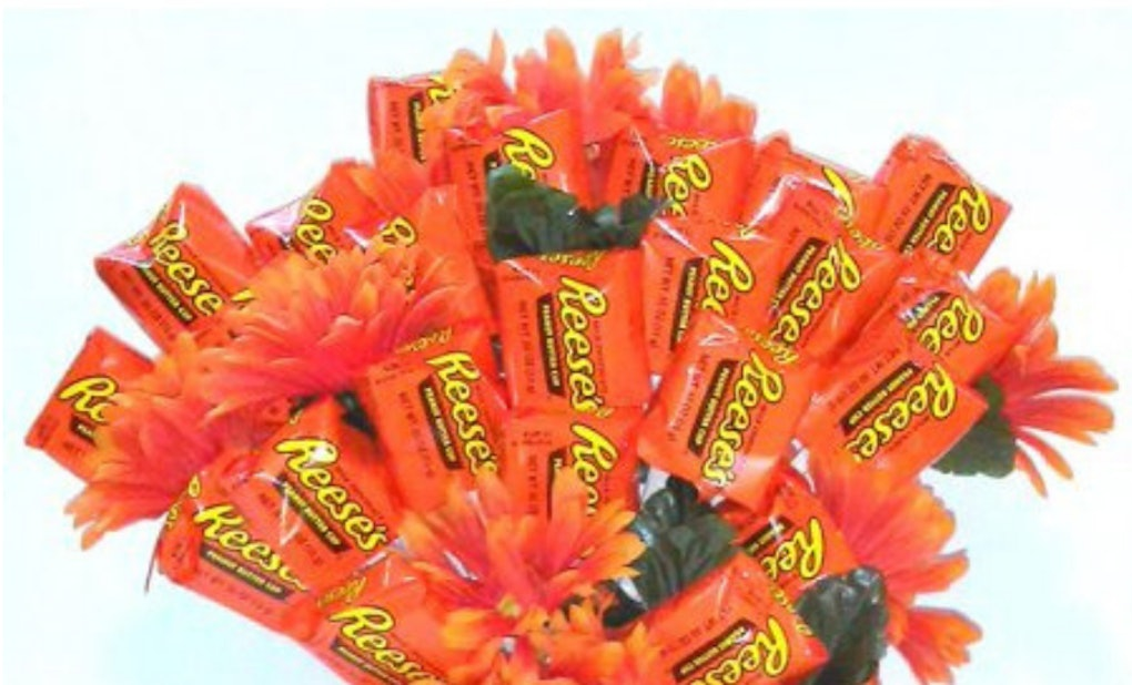 These Reese S Bouquets For Valentine S Day At Walmart Swap Roses For
