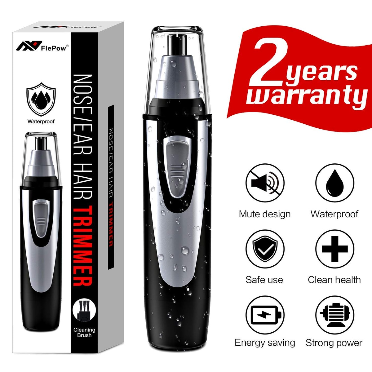 FlePow Ear And Nose Hair Trimmer