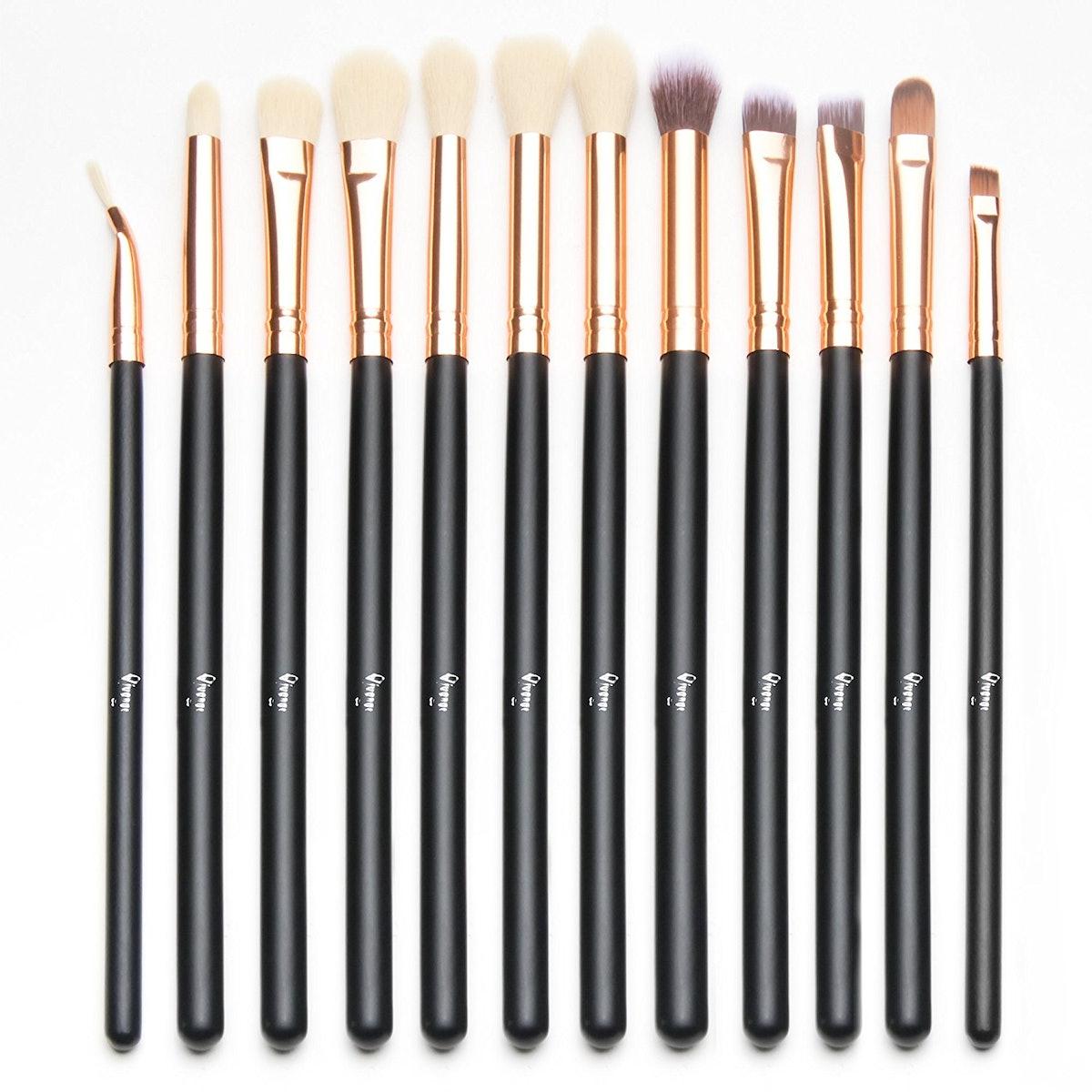 Qivange Eye Brush Set (Set of 12)