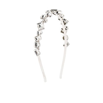 Metal Hairband with Crystals
