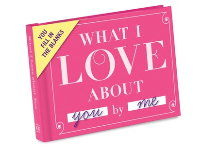 """Knock Knock """"What I Love About You"""" Fill-In Journal"""