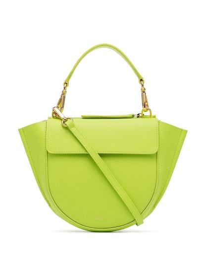 Green Mini Hortensia Leather Bag