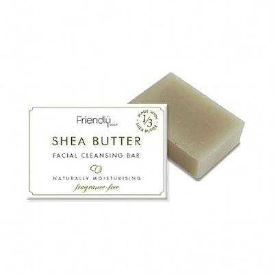 Friendly Soap Natural Shea Butter Facial Cleansing Bar