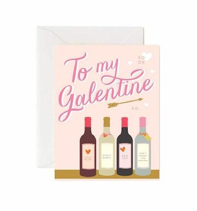 To My Galentine Card