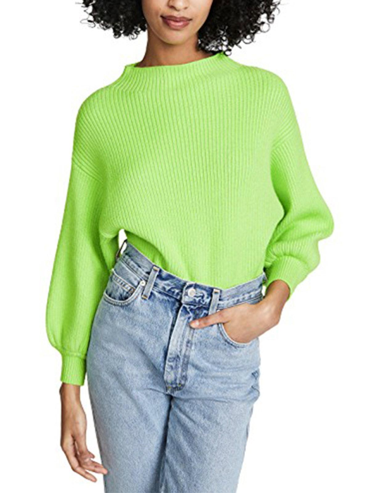 Neon Alder Sweater