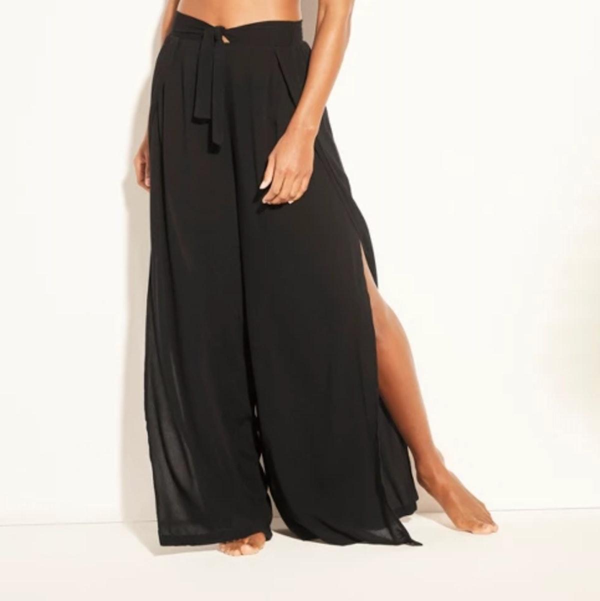 Tie Waist Beach Cover Up Pants