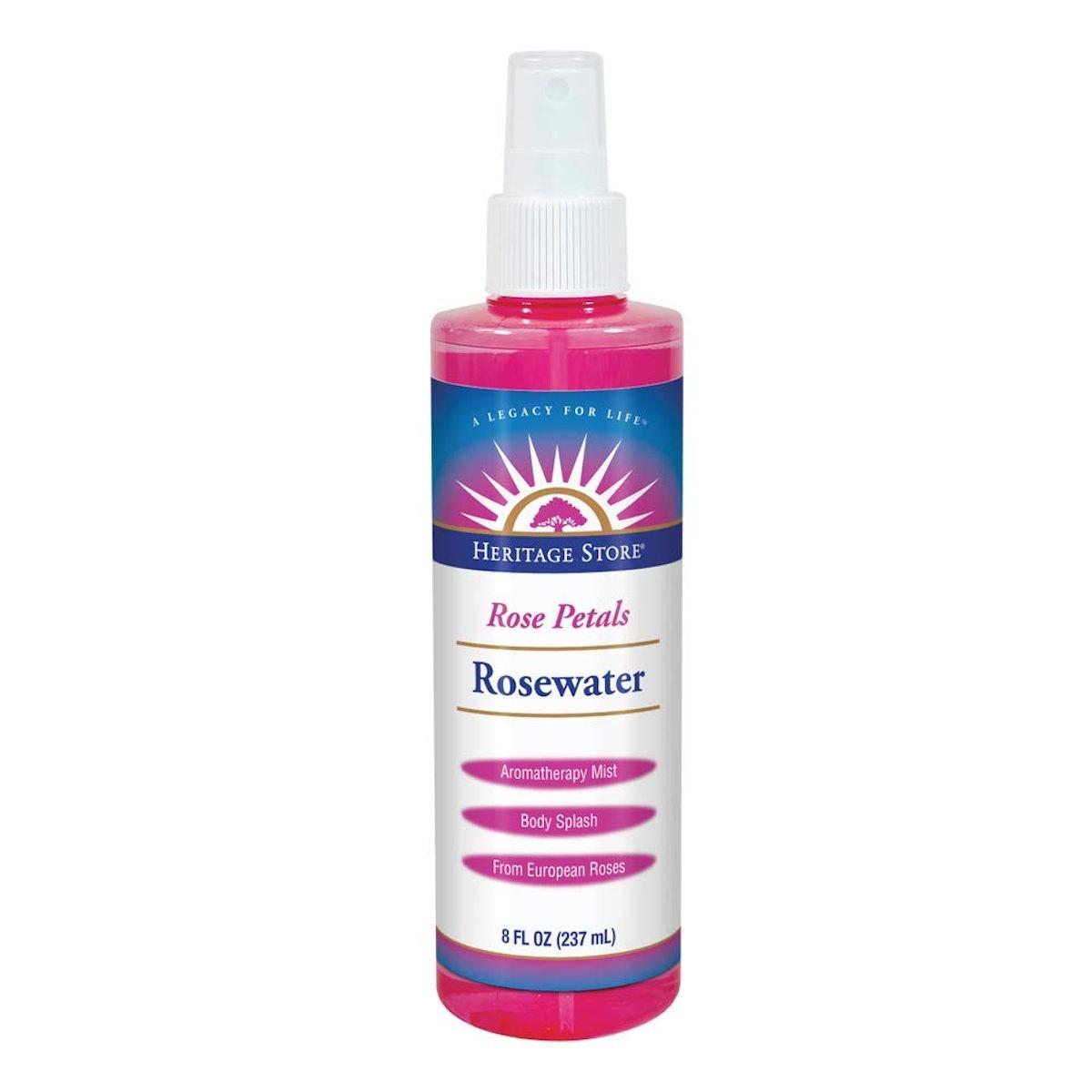 Heritage Store Rosewater Spray