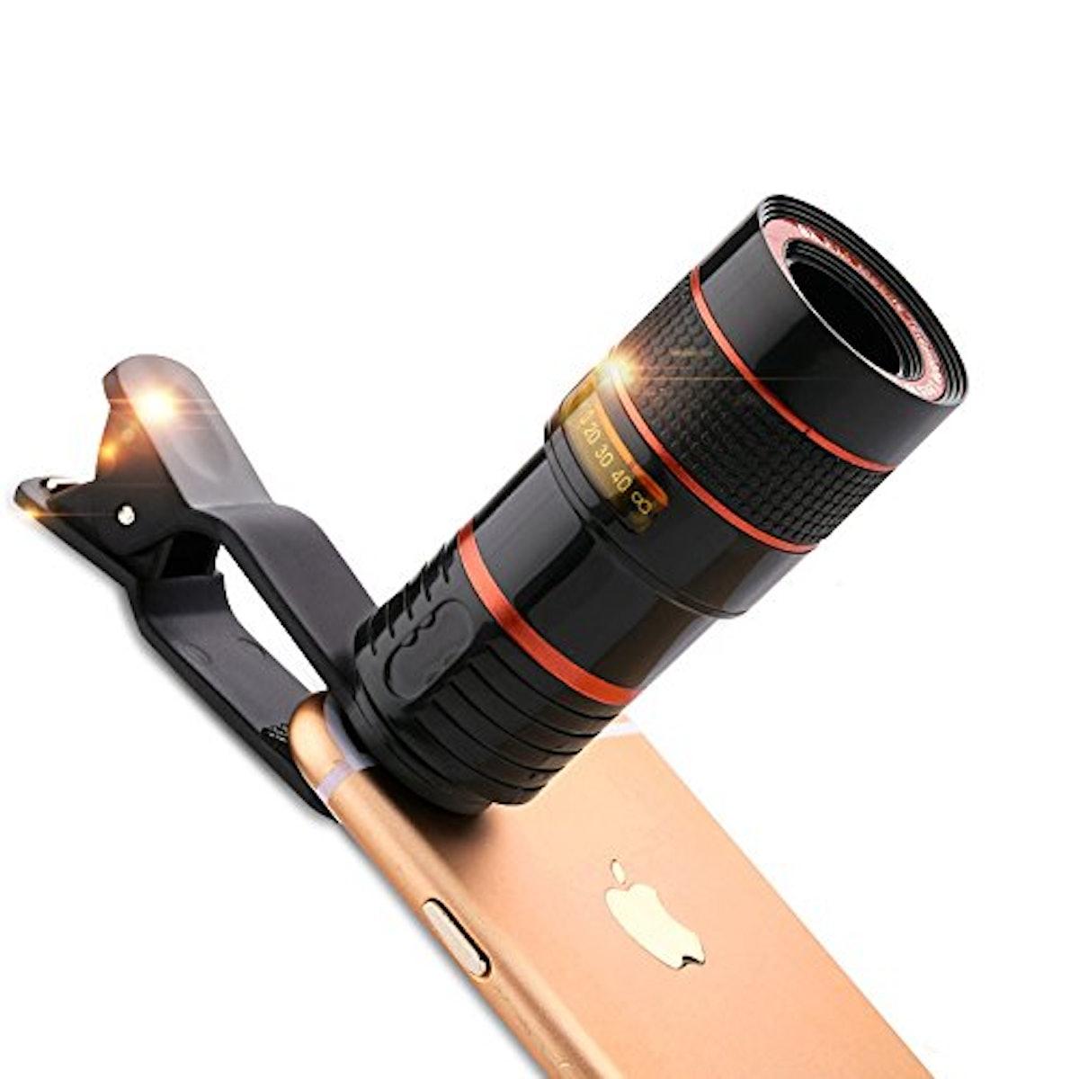 Alician Clip-On Camera Lens