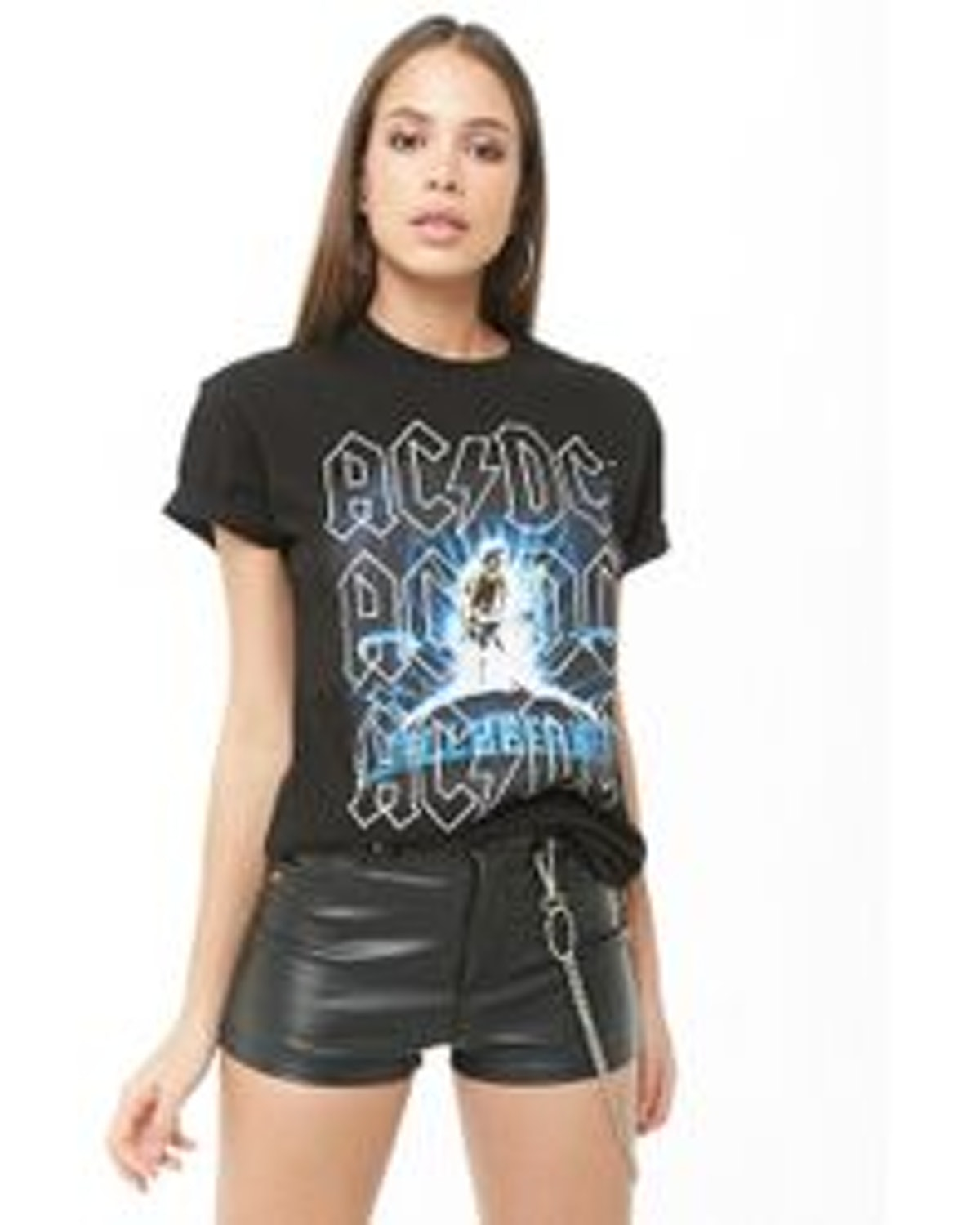 Forever 21 ACDC Graphic Tee