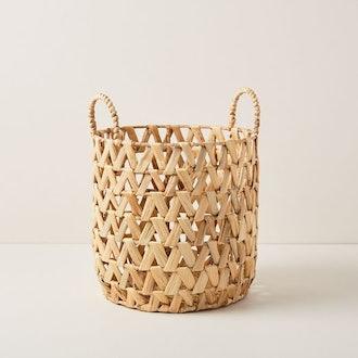 Open Weave Zigzag Baskets - Small