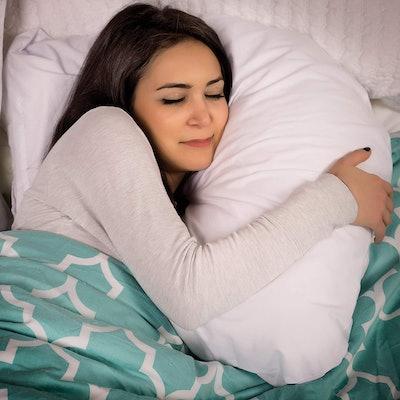 DMI Hugg-A-Pillow Hypoallergenic Bed Pillow