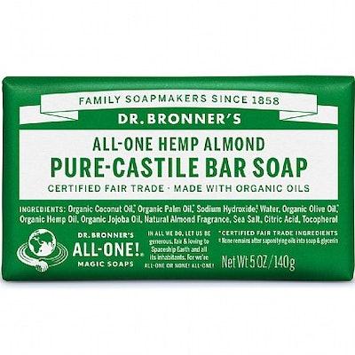Dr Bronner Almond Soap Bar