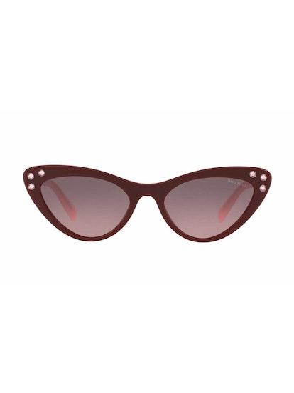 MU 05TS Sunglasses in Amaranth
