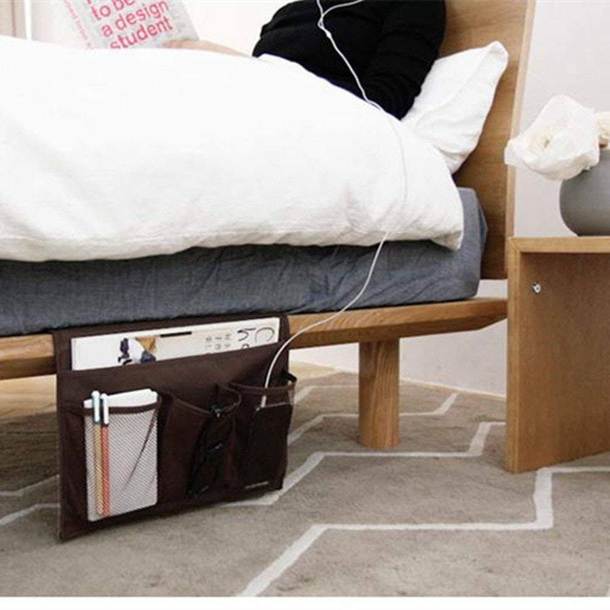 HAKACC Bedside Storage Organizer