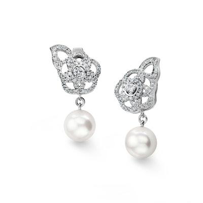 Camélia Earrings