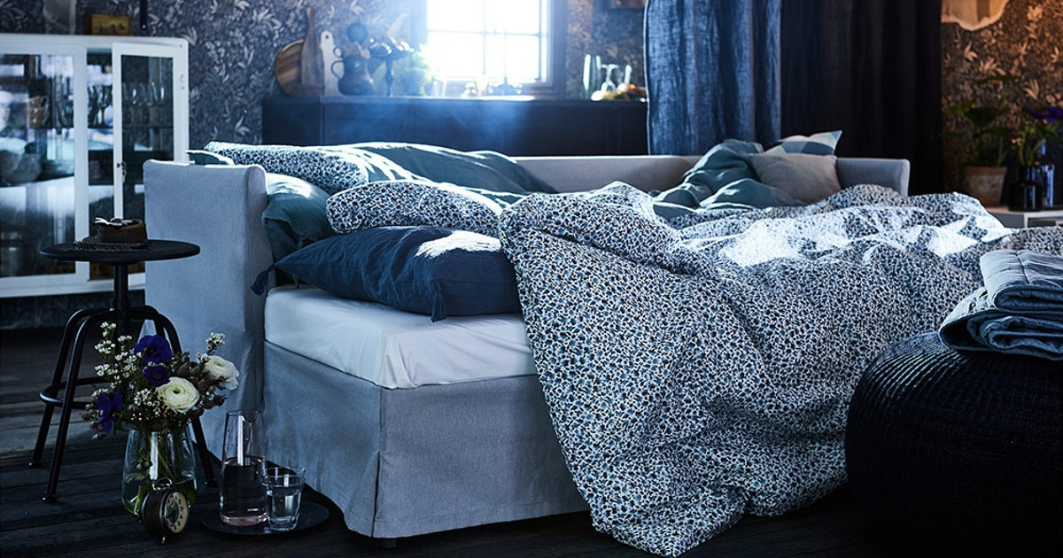 5 Ikea Bedding Sets That Will Get Your Bedroom Ready For Spring