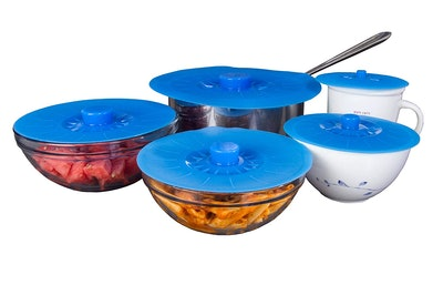 Kitchen + Home Silicone Suction Lids (Set of 5)