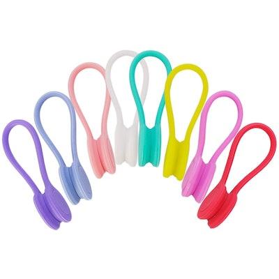 Magnetic Twist Ties (Set of 8)