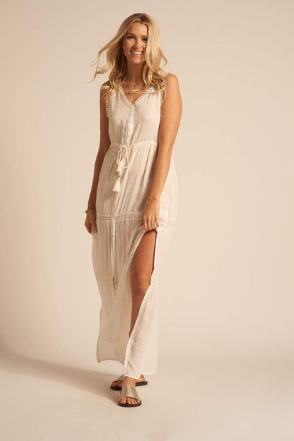 Paradise Maxi Dress - Cream