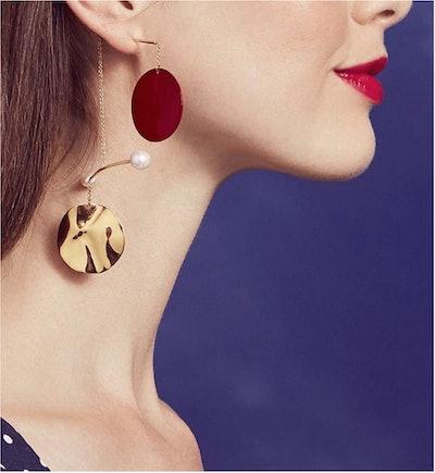 Mobile Rouge Earrings