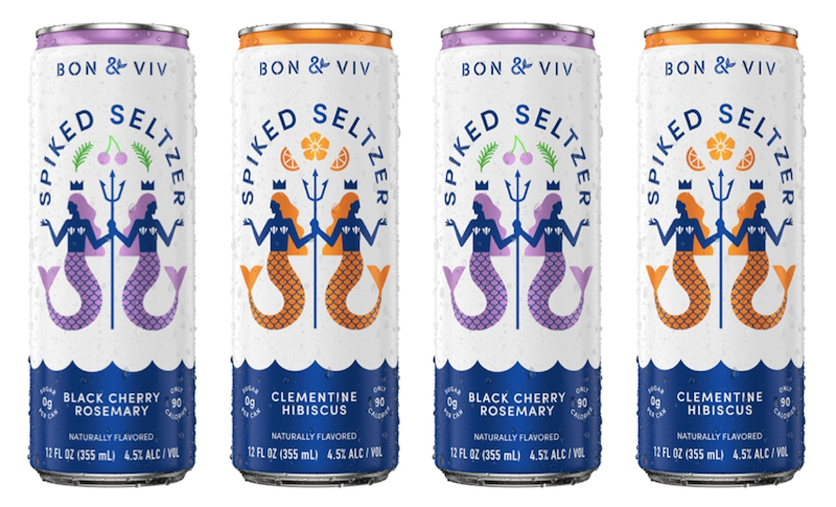 BON & VIV's New Botanical Spiked Seltzer Flavors Will Get You Stoked For Spring