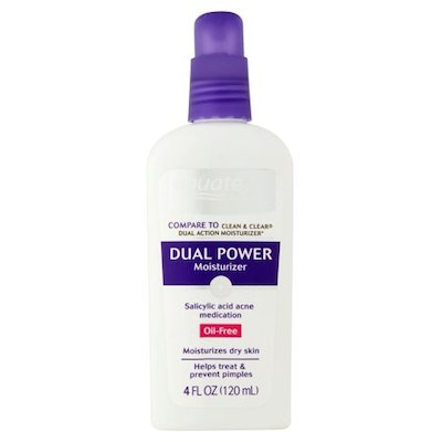 Equate Dual Power Oil-Free Face Moisturizer for Acne-Prone Skin