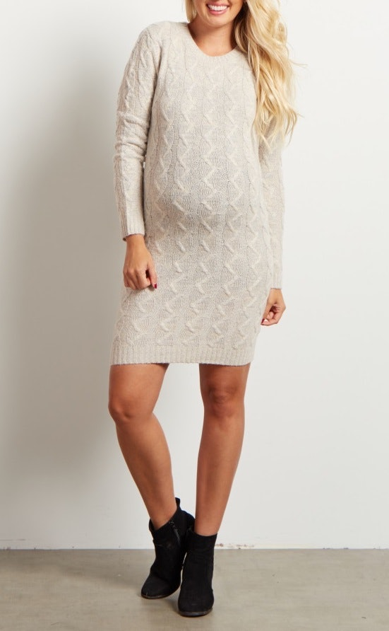bd62ad595d5 Meghan Markle s Beige Sweater Dress Is In Stock (   35) At H M
