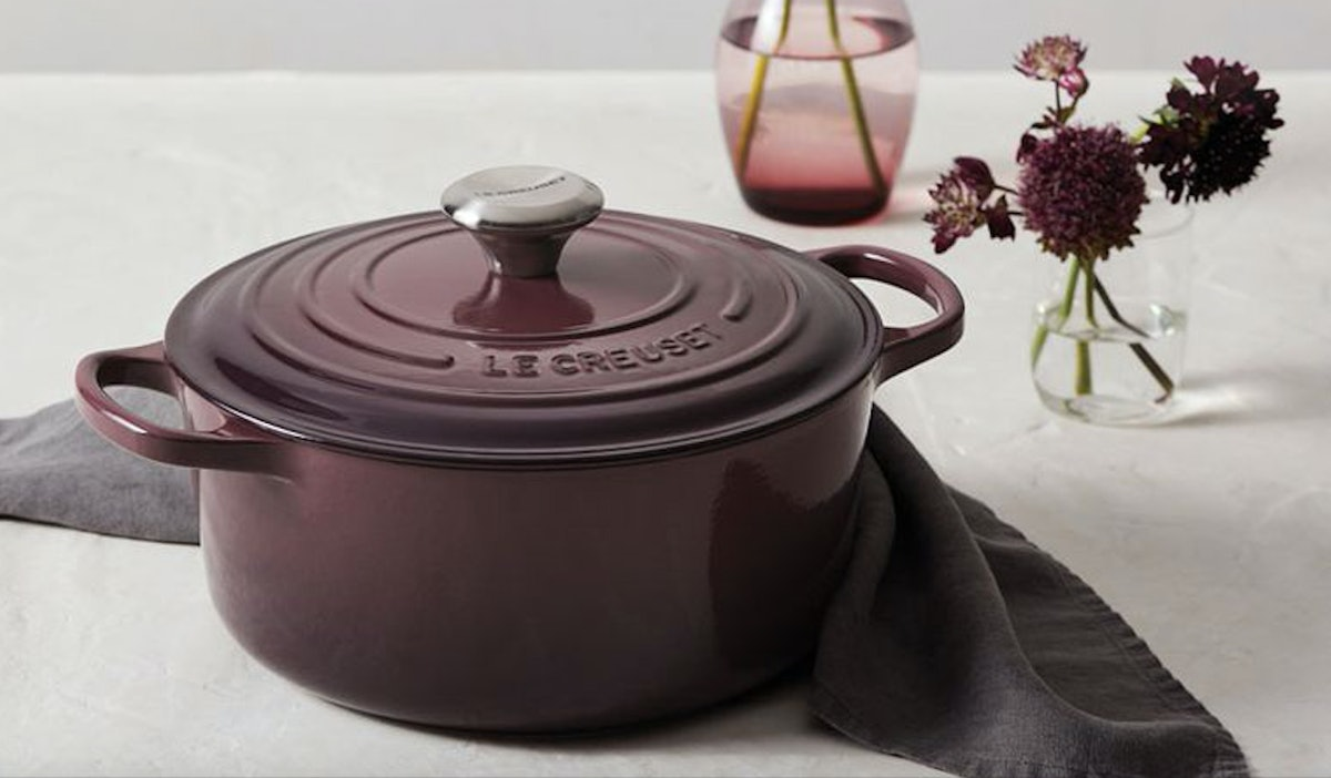 Le Creuset's 3 New Colors For 2019 Will Make You Want To Redo Your Whole Kitchen