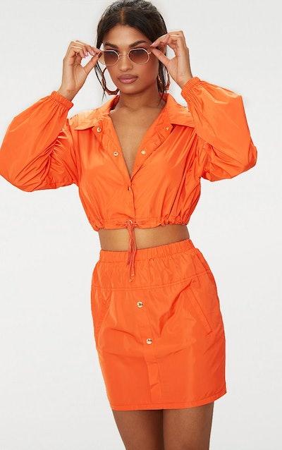 Orange Shell Suit