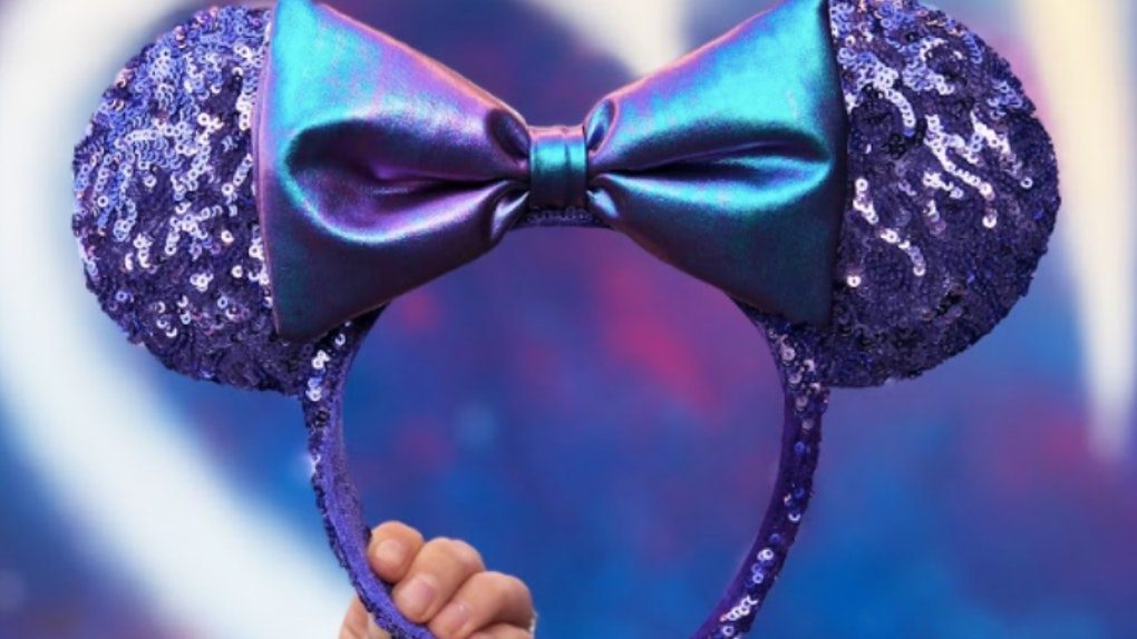 3c4b0382795 Disney s Purple Potion Headband Has Sparkly Minnie Mouse Ears Fit For A  Princess