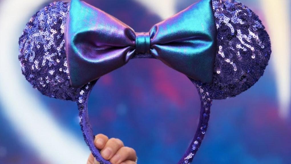 Disney s Purple Potion Headband Has Sparkly Minnie Mouse Ears Fit For A  Princess 1b757ca72e757
