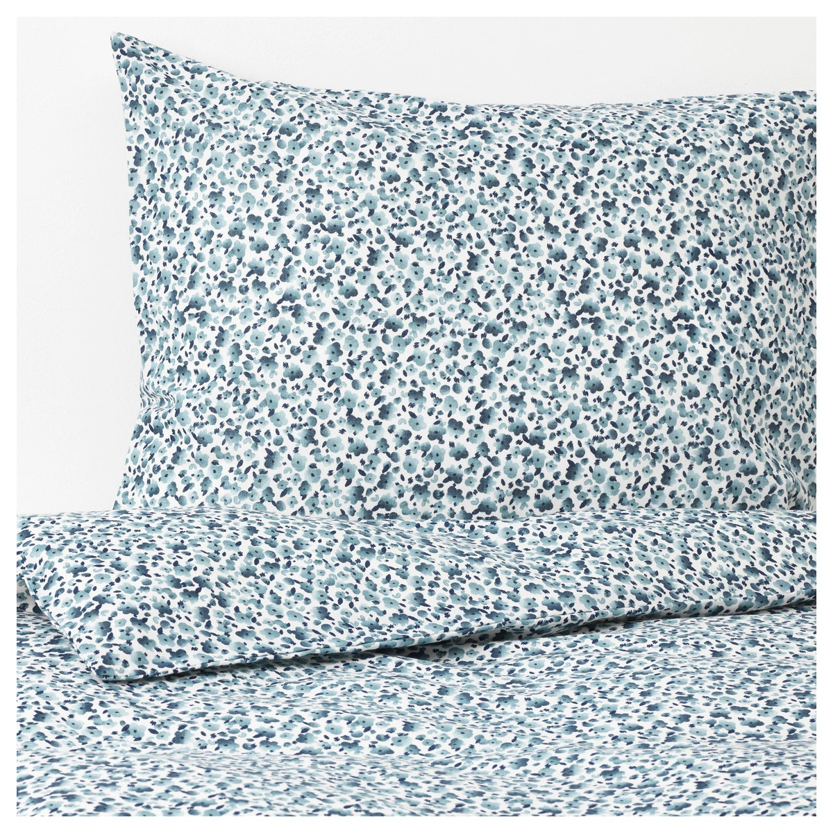 VATTENMYNTA Duvet Cover and Pillowcases