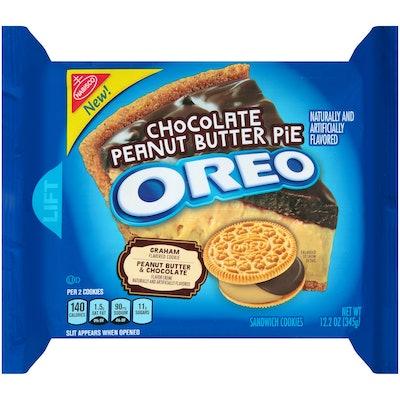 Chocolate Peanut Butter Pie Oreos