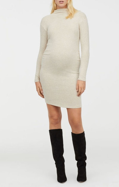 MAMA Fine-knit Dress