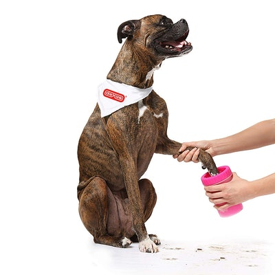 Dexas Petware Mudbuster Portable Dog Paw Cleaner