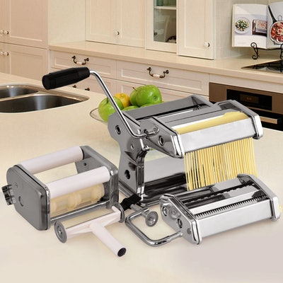 Costway 5 in 1 Stainless Steel Pasta