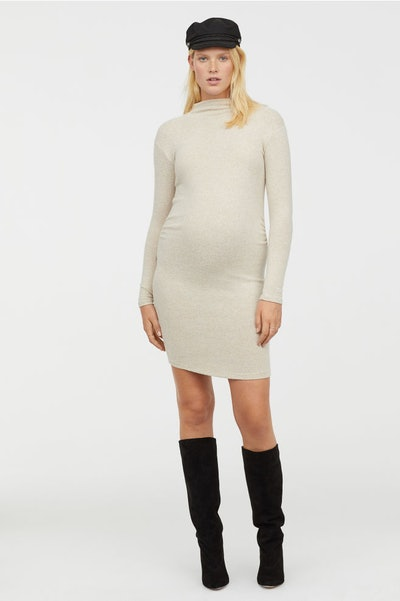 H&M Mama Fine Knit Dress