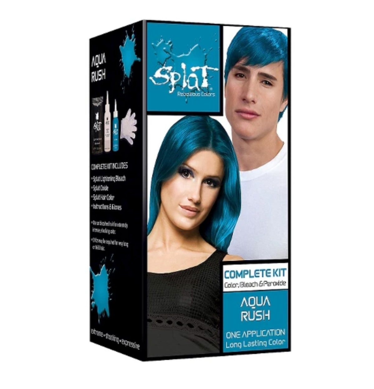 "Splat Hair Bleach & Color Kit in ""Aqua Rush"""