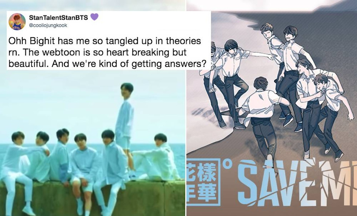 These Tweets About BTS' 'Save Me' Webtoon Are So, So Angsty