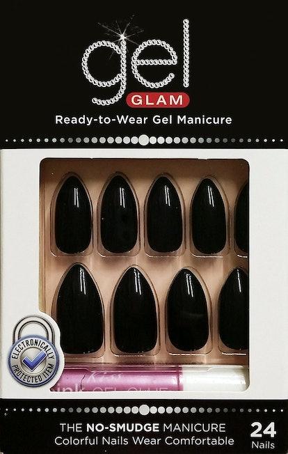 Kiss Gel Glam Nails (Set of 24)