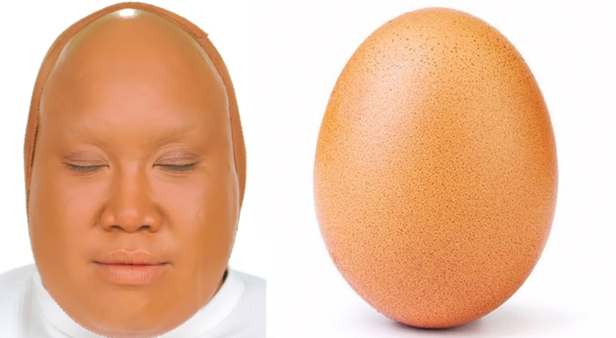 Patrick Starr's Instagram Egg Transformation Is Both Hilarious & Eerily Accurate
