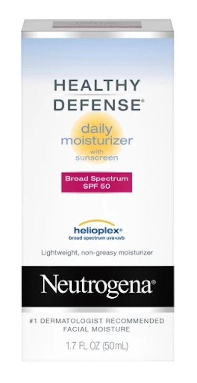 Unscented Neutrogena Healthy Defense Daily Moisturizer SPF 50