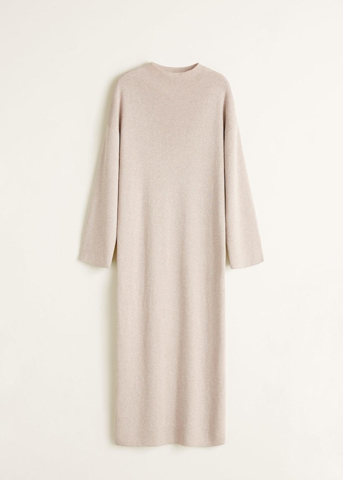 Ribbed soft dress