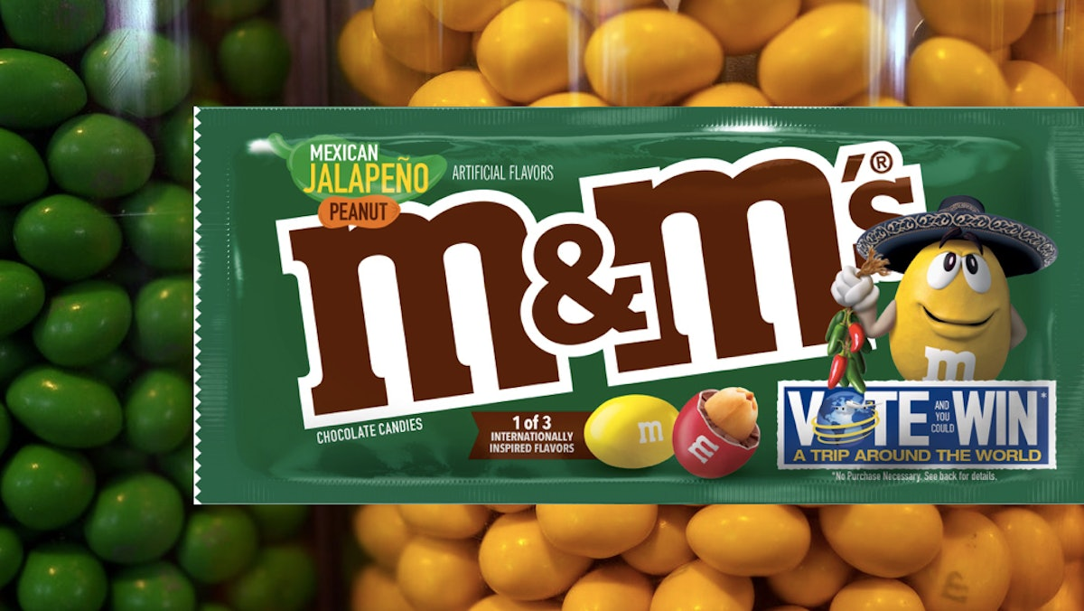The M&M's Internationally-Inspired Flavor Vote Contest For 2019 Features Bold New Options