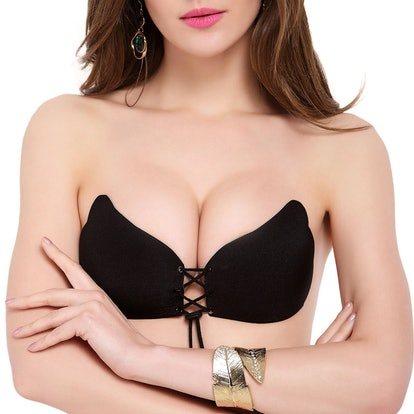 Strapless Self Adhesive Sticky Bra (Sizes A-D)