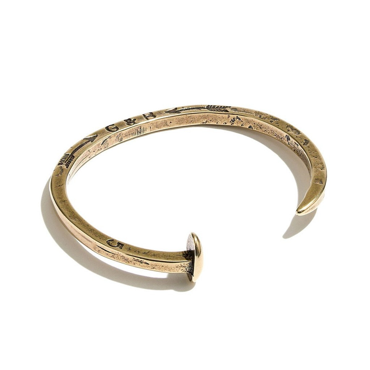 Giles And Brother Railroad Spike Cuff