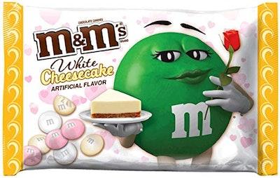 M & M's White Cheesecake