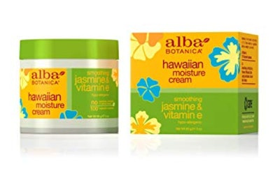 Alba Botanica Smoothing Jasmine & Vitamin E Hawaiian Moisture Cream