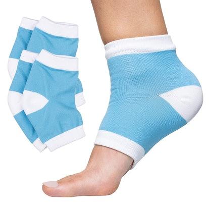 ZenToes Moisturizing Socks, 2 Pack