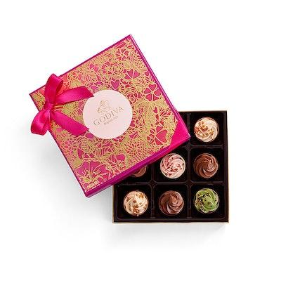 Cupcake Inspired Chocolate Gift Box, 9 pc.